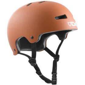 TSG Evolution Solid Color Helm satin natural gum